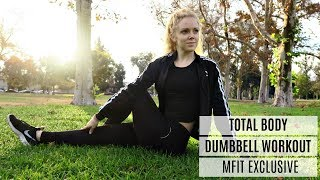 Total Body Dumbbell Workout | MFit Exclusive