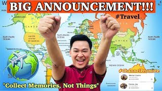 BIG ANNOUNCEMENT | Travel the World | KimChoie Travel & Tours Business Reveal