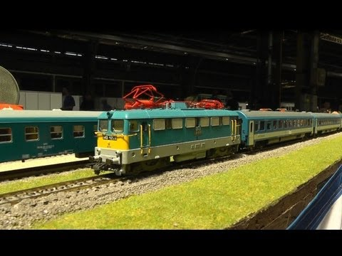 Very realistic model-railways in HO scale