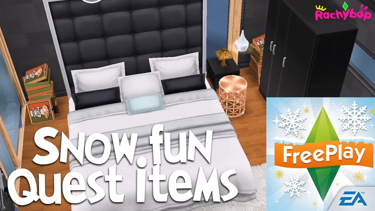 Snow Problem Seasonal Quest Items The Sims Freeplay Holidays 2017 Update