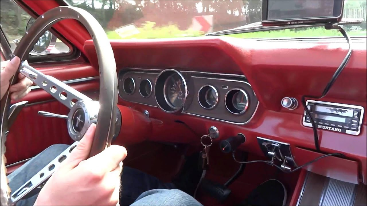 ford mustang oldtimer 1968 cabrio kurze ausfahrt youtube. Black Bedroom Furniture Sets. Home Design Ideas