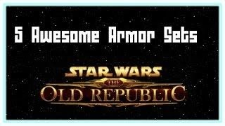 5 Awesome Jedi Consular Armor Sets + Piece Names - Swtor