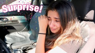 Surprising My Lil Sister With Her Dream Car!  **She cried**