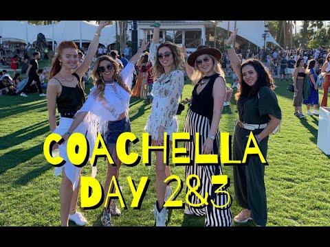 видео: COACHELLA | DAY 2&3 |DENNIS LLOYD | BELLIE ELISH |