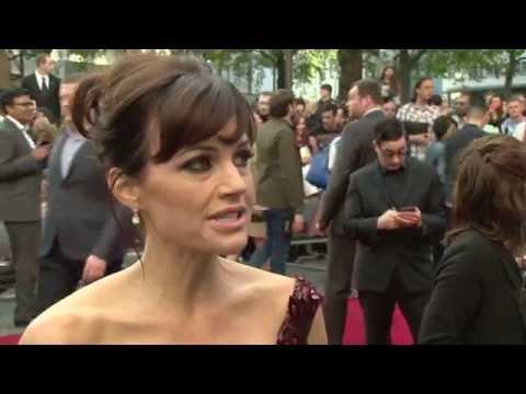 San Andreas World Premiere - Carla Gugino Interview