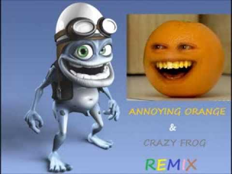 Crazy Orange (Annoying Orange & Crazy Frog REMIX)