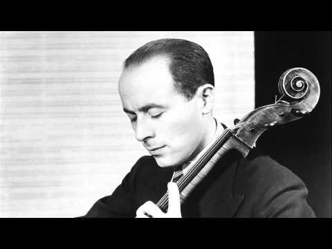 Emanuel Feuermann - Bloch, Prayer