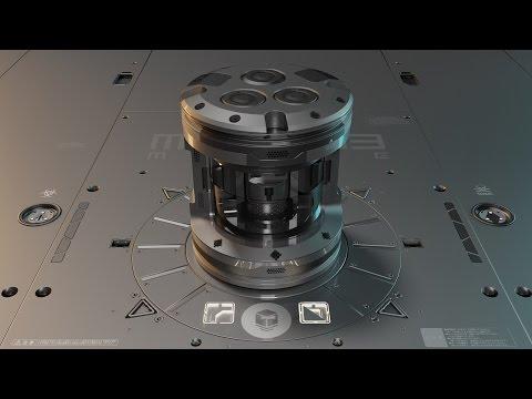 HOPS / BC / DM - Advanced 3 (Spherical Drone Curvature Demo)