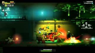 Final Exam - 2.5D side scroller co-op video game trailer - PC PS3 X360