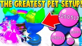 2 SHINY TROPHY'S, SHINY POT O' GOLD & 5 QUEEN OVERLORDS ALL AT ONCE!  -  Roblox Bubble Gum Simulator