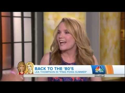 LEA THOMPSON - 52 - INTERVIEW 2 DAYS BEFORE HER 53rd BIRTHDAY - 2014