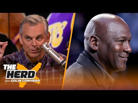 Colin Cowherd on why Michael Jordan sells more shoes than any current NBA player   NBA   THE HERD