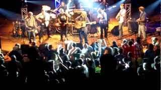 "Leftover Salmon Stringdusters ""Up On The Hill (Where They Do The Boogie)"" John Hartford song"