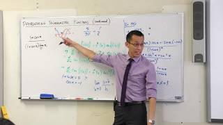 Differentiating Trigonometric Functions (2 of 2: Example using quotient rule)