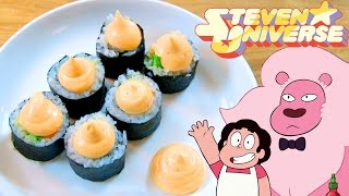 How to Make SNACK SUSHI from Steven Universe! Feast of Fiction S6 Ep08