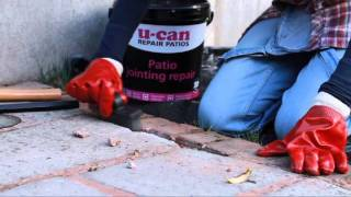 How to repair patio joints  //  U-CAN Patio Jointing Repair