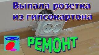 видео Установка розеток в гипсокартон: как сделать отверстие под розетку в гипсокартоне
