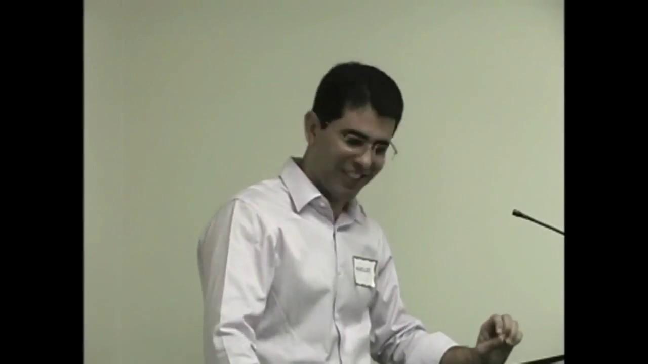 Paulo e Estevão com Haroldo Dutra Dias