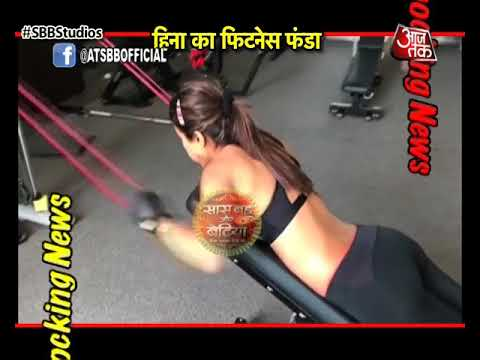 Hina Khan hits GYM thumbnail