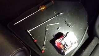 2010 Mustang tapping knocking in dash repair