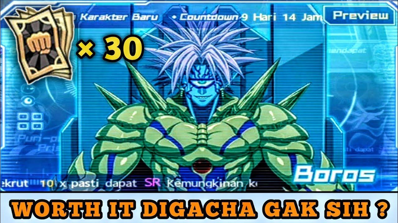 BAHAS SEBERAPA WORTH IT SI BABANG BOROS + GACHA 30 RARE TIKET | One Punch Man The Strongest