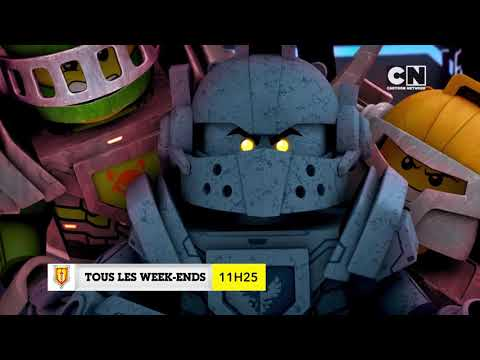 LEGO NEXO KNIGHTS - Tous les weekends à 11h25 sur CARTOON NE