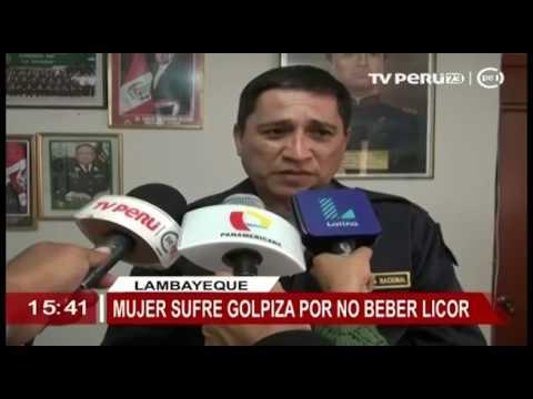 TV PERÚ 7 3 NOTICIAS REGIONAL MUJER SUFRE GOLPIZA POR NO BEBER LICOR CON SU PAREJA