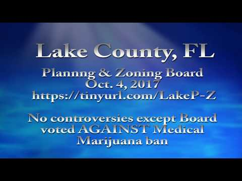 Lake County Planning & Zoning Board Rejects County Commissioner Maryjane Ban