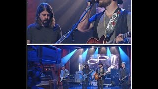 Download Foo Fighters with Zac Brown - War Pigs Cover Late Show with Letterman 10/13/2014 Mp3 and Videos