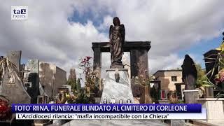 TOTO' RIINA, FUNERALE BLINDATO AL CIMITERO DI CORLEONE