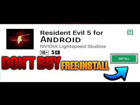 Resident Evil 5 For Android || How To Download Resident Evil 5 For Android  Free || Ultra Graphics