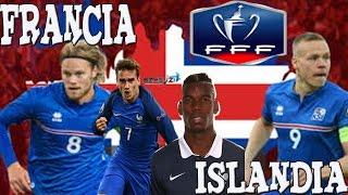FRANCIA VS ISLANDIA PRONOSTICO EURO 2016