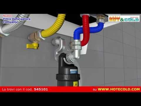 Defangatore per caldaie - Caleffi 545101 Dirtimag Slim - YouTube