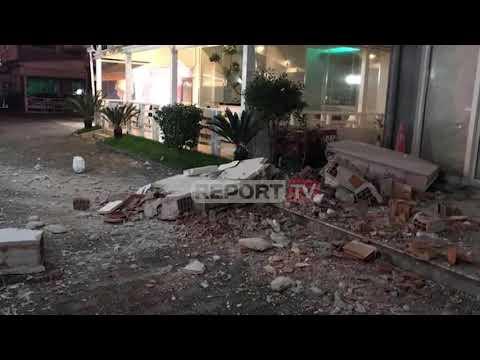 Tërmet i madh në Shqipëri, shembje në Durrës, gjithë Tirana në rrugë nga paniku