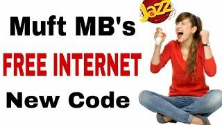 Mobilink Jazz Free Internet 2 New codes 2019