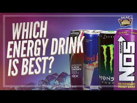 Which Energy Drink is Best for Gamers? (7 Drinks in 7 Days)