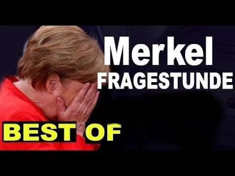 MERKEL BEFRAGUNG -Best of - SKANDAL - AFD - HD - Bundestag