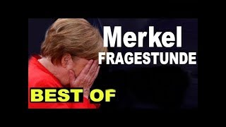 MERKEL BEFRAGUNG -Best of - SKANDAL - AFD - HD - Bundestag