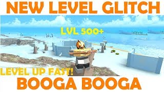 Roblox Booga Booga - Leveling Glitch, Level to 100 FAST! & Copper Key Event