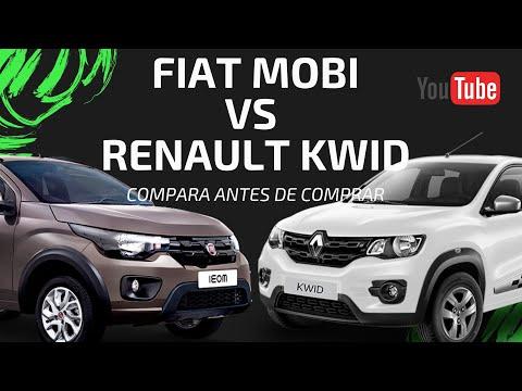 FIAT  MOBI VS RENAULT KWID Y SU COMPETENCIA EN ESTE SEGMENTO