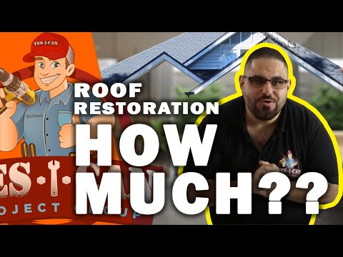 HOW MUCH DOES IT COST TO RESTORE A ROOF? | HOME RENOVATIONS 101 EPISODE - 11