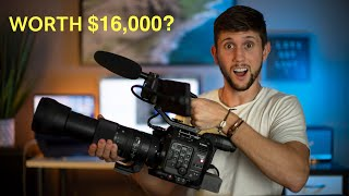 i bought a $16,000 camera..worth it? (C500 Mark II)