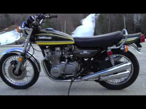 3 1974 kawasaki z1 900 youtube. Black Bedroom Furniture Sets. Home Design Ideas