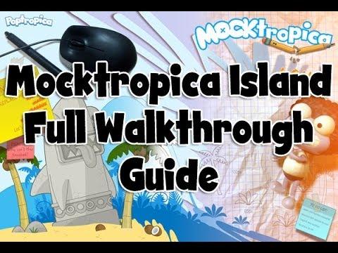 Poptropica Mocktropica Island FULL Walkthrough *Fastest ...