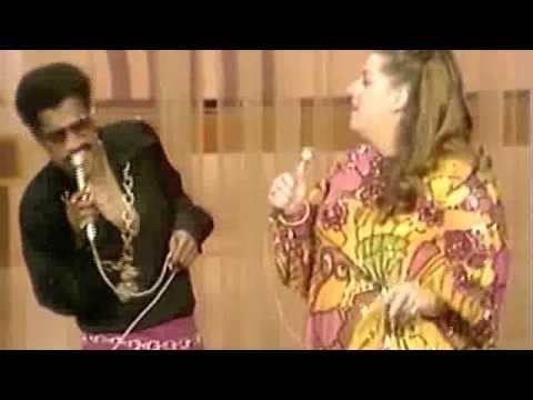 Sammy Davis Jr. & Mama Cass Get Down!  1969