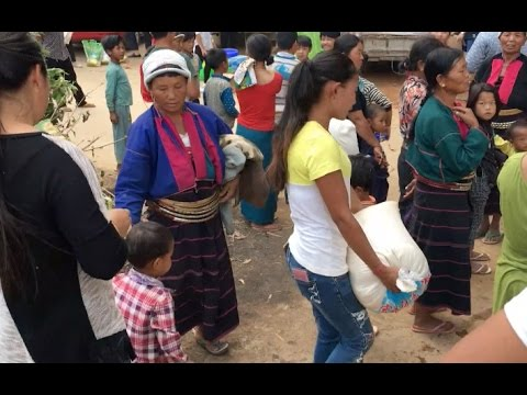 Myanmar Civilians Fleeing to China's Border Towns Hope for End to War