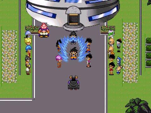 Dragon Ball Z: Legend Of Z RPG - Goku's Transformations