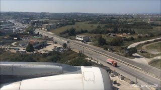 Aegean A320 Gorgeous Summer Landing at Thessaloniki [HD](Flight from Rhodes Airport to Thessaloniki with Aegean Airlines A320! Recorded with iPhone 5s Date: 18/09/2015 Seat: 8A. ©Sifis_Aviation..., 2016-06-06T08:36:36.000Z)
