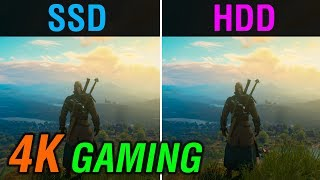 SSD vs. HDD | 4K Gaming Performance Comparison in 4 Games