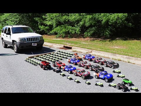 How Many Toy Cars Does It Take To Pull A Real Car?